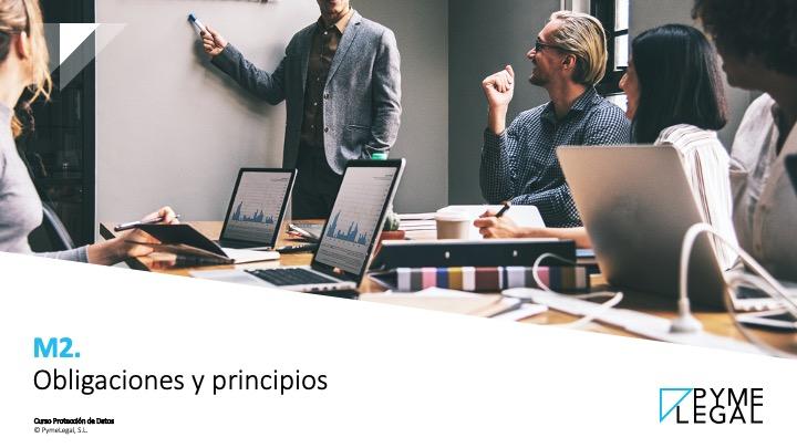 Módulo 2. Obligaciones y principios