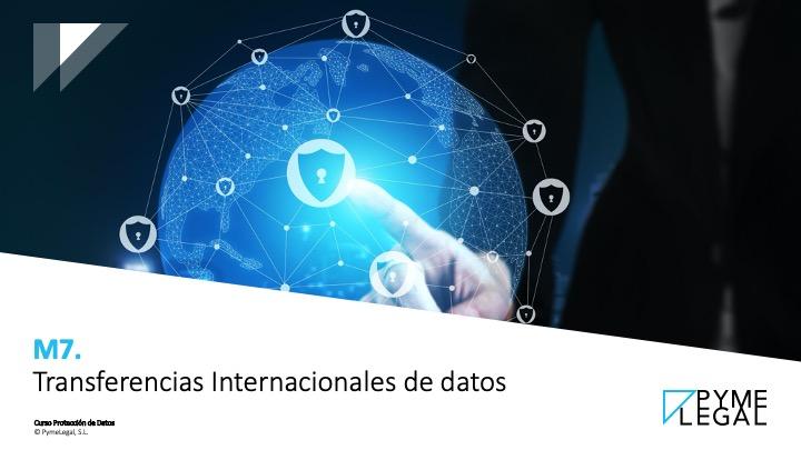 Módulo 7. Transferencias Internacionales